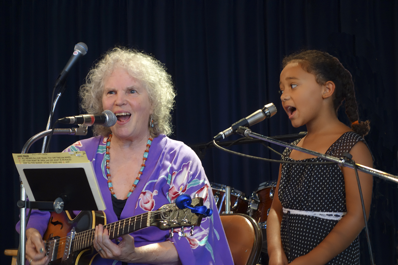 Terry Garthwaite Duet with God-Daughter